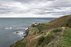 Negligenciando o mar cantábrico Imagens de Stock Royalty Free