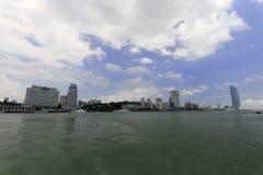 Negligencie o beira-mar da ilha de xiamen, porcelana Fotos de Stock Royalty Free