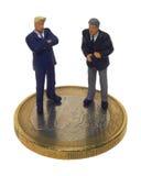 negociação Fotografia de Stock Royalty Free