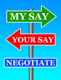 negociación stock de ilustración