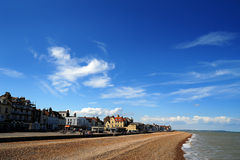 Negocie a praia Kent imagens de stock royalty free