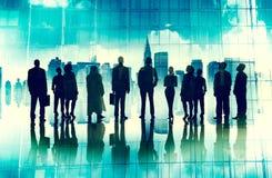 Negocio corporativo global Team Vision Mission Concept Foto de archivo libre de regalías
