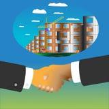 Negocio de construcción Imágenes de archivo libres de regalías