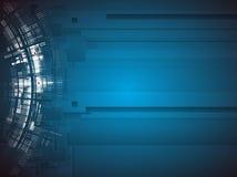 Negocio de la informática de Internet futurista de la ciencia alto Foto de archivo libre de regalías