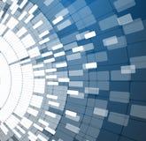 Negocio de la informática de Internet futurista de la ciencia alto