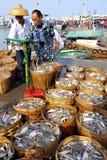 Negocio de los mariscos Fotografía de archivo