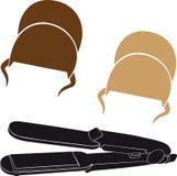 Negocio de los peluqueros Imagen de archivo libre de regalías