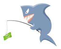 Negocio de los tiburones Fotos de archivo libres de regalías