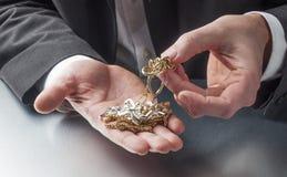 Negocio de metales preciosos Fotografía de archivo libre de regalías