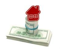 Negocio de Real Estate concentrado Foto de archivo libre de regalías
