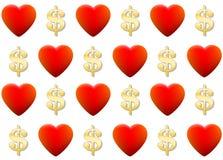 Negocio del amor Imágenes de archivo libres de regalías