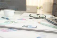 Negocio del análisis fotos de archivo libres de regalías