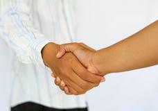 Negocio del corchete Imagen de archivo libre de regalías