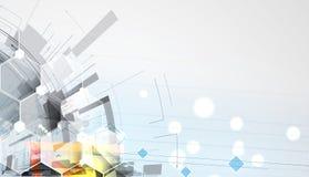 Negocio del fondo de la tecnología y dirección abstractos del desarrollo