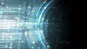 Negocio del fondo de la tecnología y dirección abstractos del desarrollo Imágenes de archivo libres de regalías