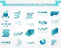 Negocio e infographics social ilustración del vector