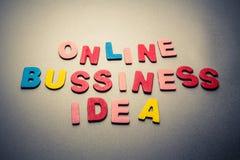 Negocio en línea Fotografía de archivo libre de regalías