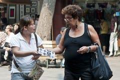 Negocio en la calle Imagenes de archivo