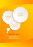 Negocio guide05 de la presentación de la plantilla del elemento del diseño Foto de archivo libre de regalías