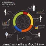 Negocio Infographic Foto de archivo