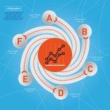 Negocio Infographic. Imagen de archivo