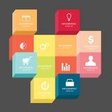 Negocio Infographic Imágenes de archivo libres de regalías