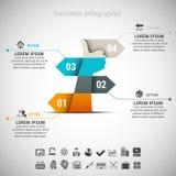 Negocio Infographic libre illustration