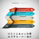 Negocio Infographic Imagenes de archivo