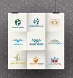 Negocio Logo Design Set Foto de archivo