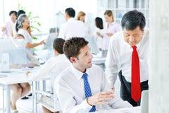 Negocio multiétnico Team Office Concept Fotografía de archivo libre de regalías
