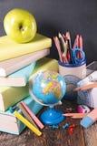 Negocio o accesorios de la escuela Imagen de archivo libre de regalías