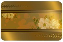 Negocio o plantilla del carte cadeaux Imagen de archivo libre de regalías