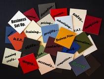 ¿Negocio puesto - tutoría de la necesidad? Fotos de archivo libres de regalías