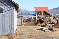 Negocio Small Lumber Company fotos de archivo