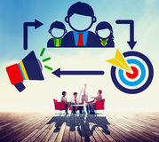 Negocio Team Brainstorming Meeting Conference Concept fotos de archivo libres de regalías
