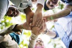 Negocio Team Celebration Party Success Concept Imagenes de archivo