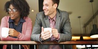 Negocio Team Coffee Break Relax Concept Fotografía de archivo libre de regalías