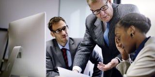 Negocio Team Corporate Organization Meeting Concept Imágenes de archivo libres de regalías