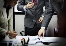 Negocio Team Corporate Organization Meeting Concept Imagen de archivo libre de regalías