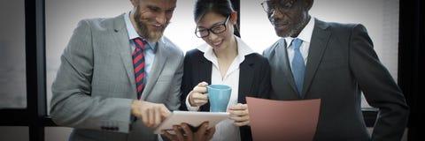 Negocio Team Corporate Organization Working Concept Fotografía de archivo
