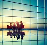 Negocio Team Discussion Meeting Corporate Concept Fotos de archivo libres de regalías