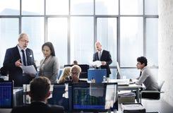 Negocio Team Finance Stock Exchange Busy Cocnept Fotos de archivo
