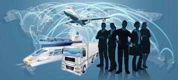 Negocio Team Logistics Concept Imágenes de archivo libres de regalías