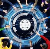 Negocio Team Meeting Brainstorming Planning Concept fotografía de archivo