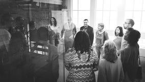 Negocio Team Organization Brainstorming Concept fotografía de archivo