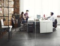 Negocio Team Professional Occupation Workplace Concept Fotografía de archivo libre de regalías
