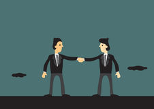 Negocio Team Vector Cartoon Illustration Foto de archivo libre de regalías