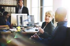Negocio Team Working Office Worker Concept Fotografía de archivo libre de regalías
