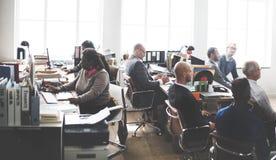 Negocio Team Working Office Worker Concept Imágenes de archivo libres de regalías