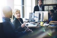 Negocio Team Working Office Worker Concept Fotografía de archivo